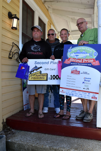Boatyard 2019 Tournament 2nd Place by FishTalk 2