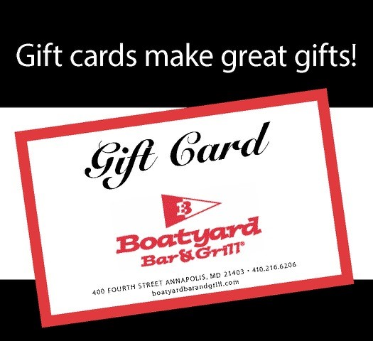 Boatyard Bar Grill gift card