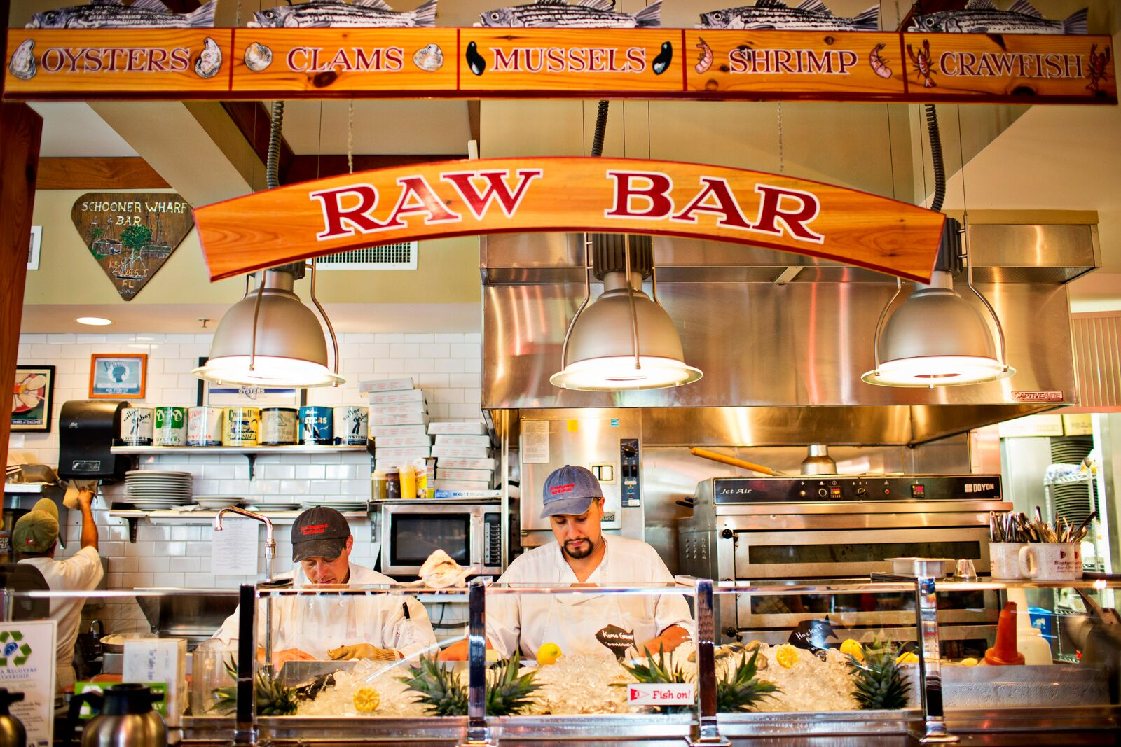 Boatyard best raw bar