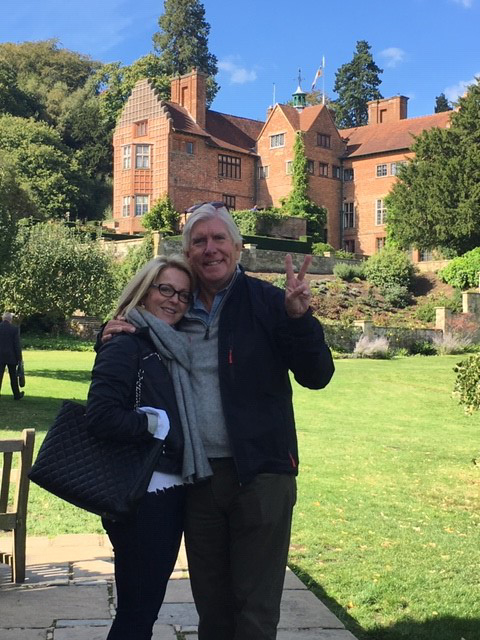 Dick and Georgie Franyo at Chartwell