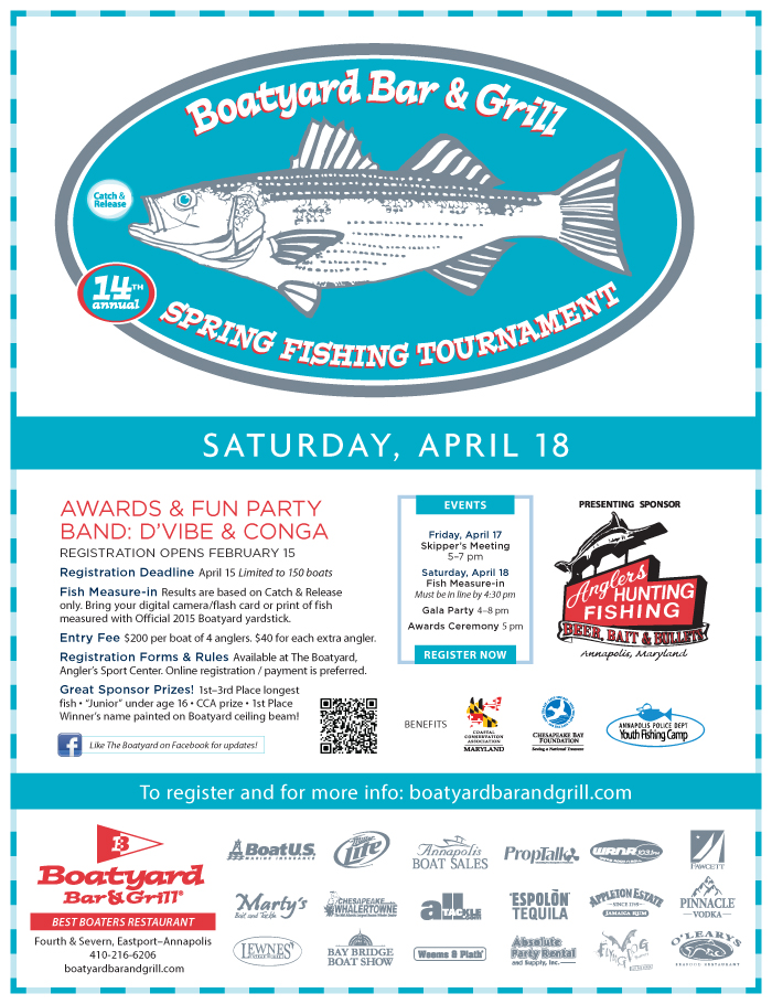 Fishing Flyers with Sponsors flyer add Flying Dog