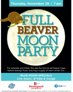 Boatyard Full Moon Party November 2018
