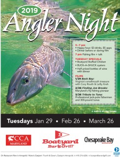 Boatyard Bar & Grill Angler Nights Return