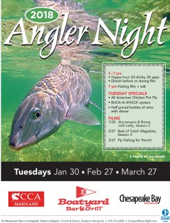 Angler Nights return to the Boatyard - save the dates 2018