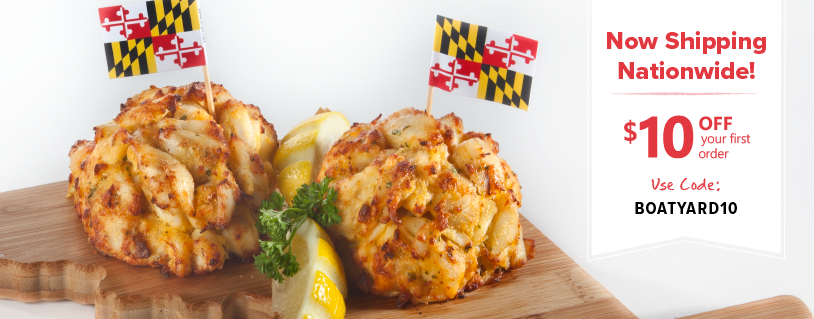 Boatyard Crab Cakes online 10 off