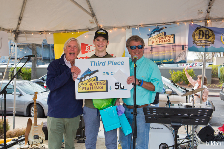 Boatyard Rockfish Tournament 2018 3rd place winner