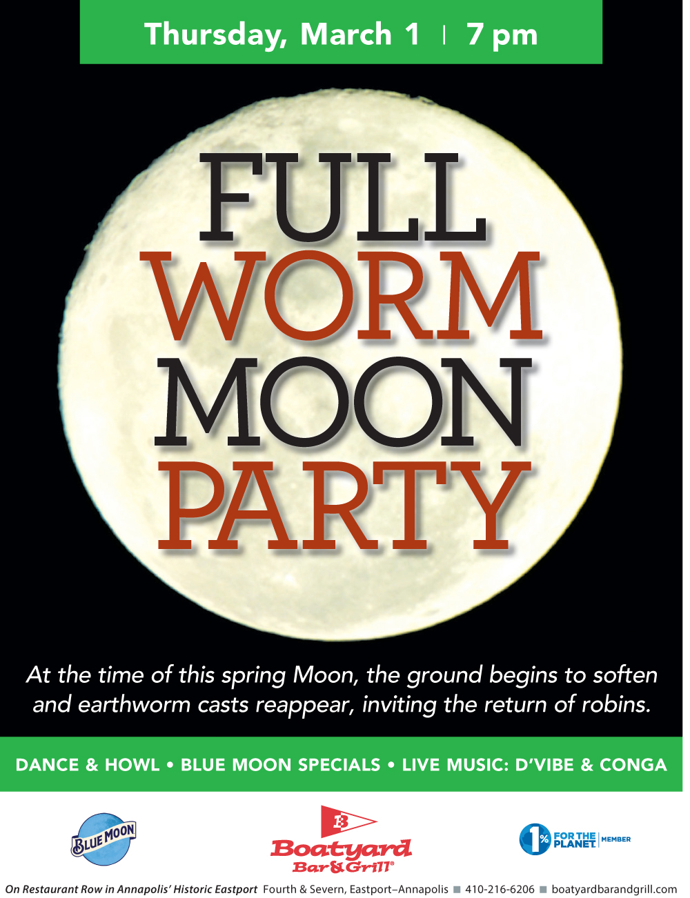 Full Moon Party March 2018
