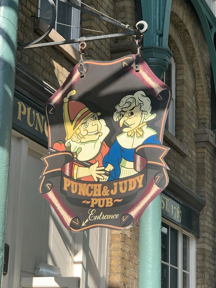 Punch Judy London