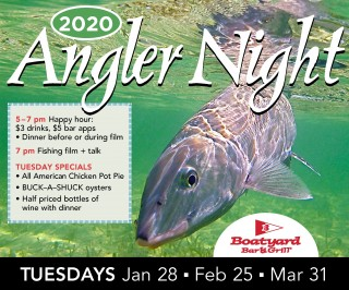 Boatyard Bar & Grill Angler Nights are baaaack!